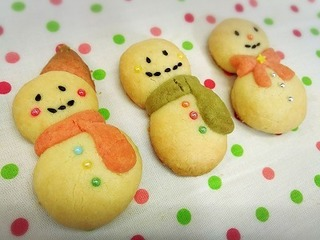 雪だるまクッキー(粉糖なし).jpg